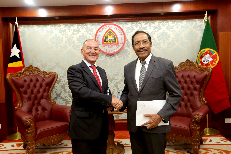 Governo de Portugal continuará a dar apoio a Timor-Leste no Desenvolvimento das Forças de Defesa