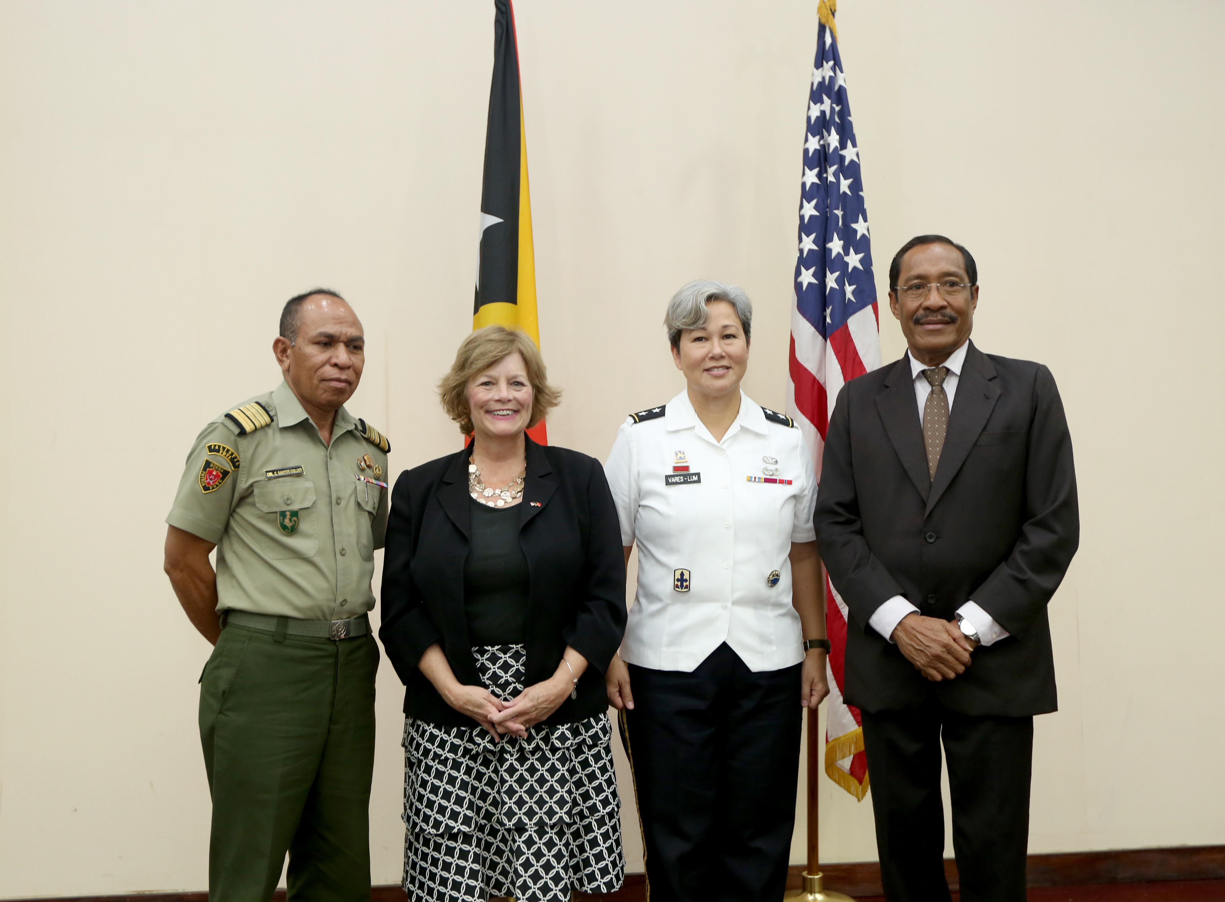 Dialogu Bilateral Defeza EUA-TL Hametin Lasu Amizade
