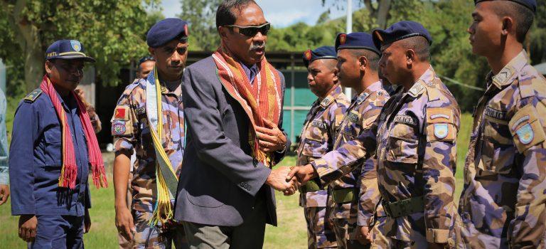 MD Hala'o Vizita Ba Postu UPF- F-FDTL Iha Munisípiu Kovalima-Bobonaru