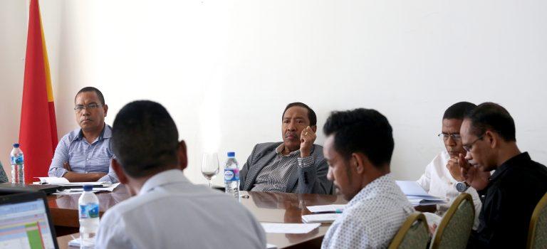 Ministériu Defeza Hahú Deskuti Planu Programa Estratéjiku 2019-2023