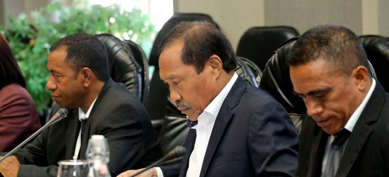 Ministru Defeza Aprezenta Rezolusaun Governu, Kona-ba Vistu Turizmu Sidadaun Indonézia