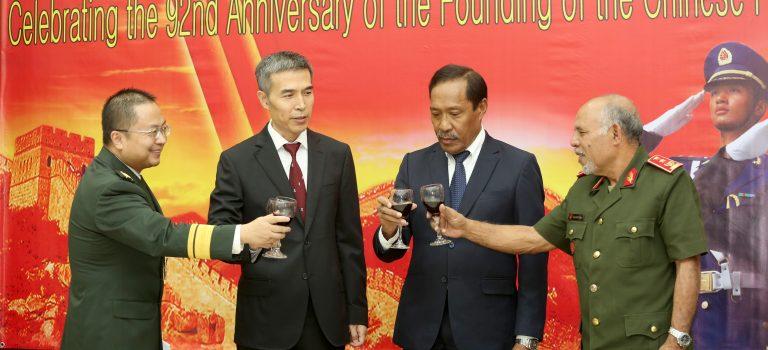 MD Kongratula Nasaun China Ba Apoiu Tomák Iha TL
