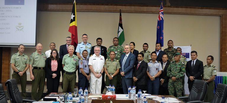 TL-Nova Zelándia halo Inkontru Anual Programa Asisténsia Iha Área Defeza