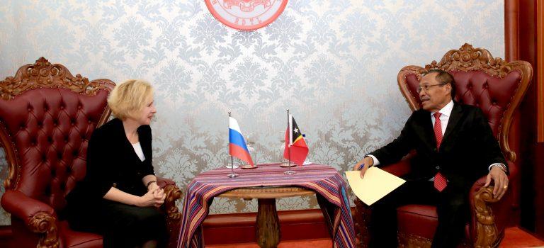 MD Simu Vizita Kortezia Husi Embaixadora Rússia