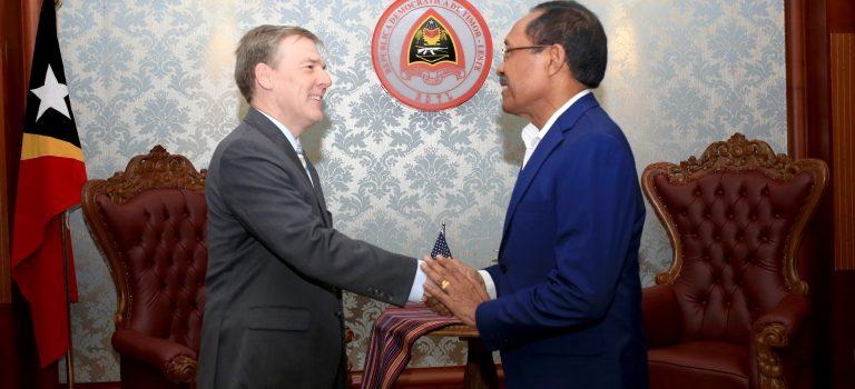 Ministru Defeza Hato'o Agradesementu Ba EUA, Apoiu Iha Setór Defeza