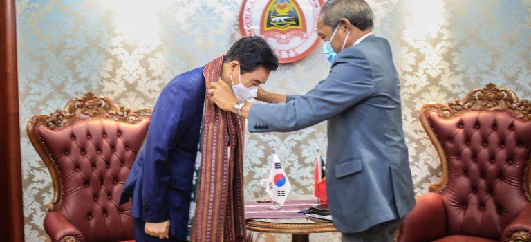 Korea Súl Renova Kooperasaun Foun Ho TL Iha Área Defeza