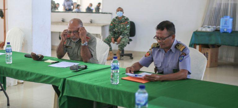 MD Kontinua Konvoka Reuniaun Ho Ekipa Liña Ministerial, Deskute Regulamentu AMN
