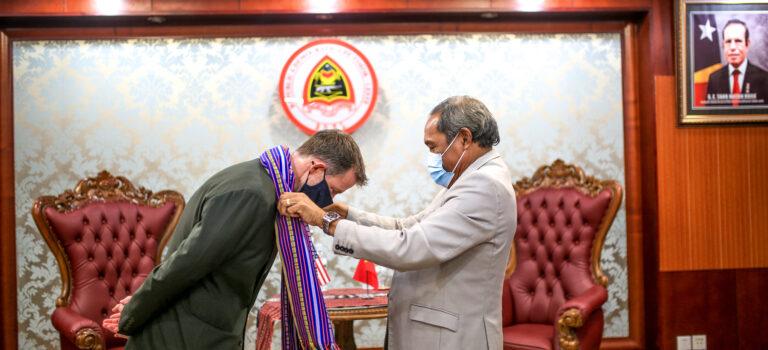 Embaixador Foun EUA Kontinua Hametin Lasu Amizade Ho TL